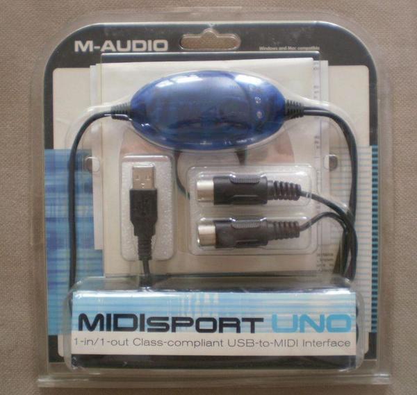 M-Audio Midisport Uno - MIDI USB Interface gebraucht kaufen  85609 Aschheim