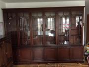 Mahagoni Wohn-Esszimmermöbel