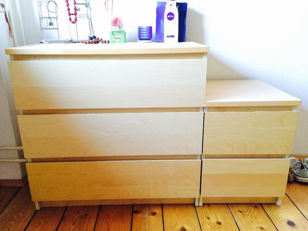 malm kommode. Black Bedroom Furniture Sets. Home Design Ideas