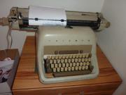 Mechanische Schreibmaschine mit