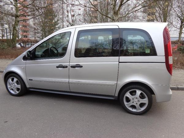 mercedes vaneo 1 9 in berlin mercedes v klasse vito. Black Bedroom Furniture Sets. Home Design Ideas