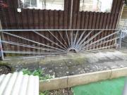 Metall Zaun und