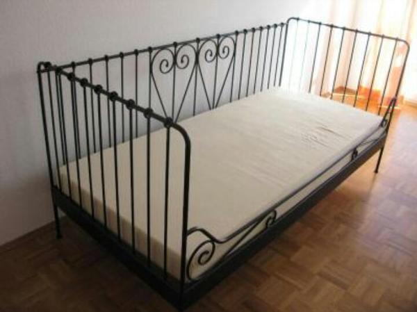 metallbett ikea neu und gebraucht kaufen bei. Black Bedroom Furniture Sets. Home Design Ideas