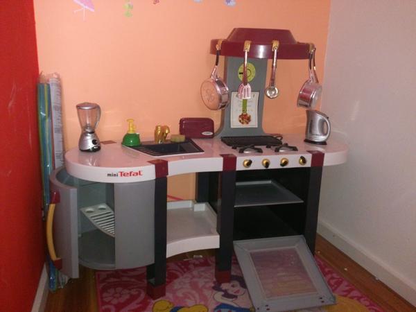 mini tefal kinderk che in m nchen sonstiges kinderspielzeug kaufen und verkaufen ber private. Black Bedroom Furniture Sets. Home Design Ideas