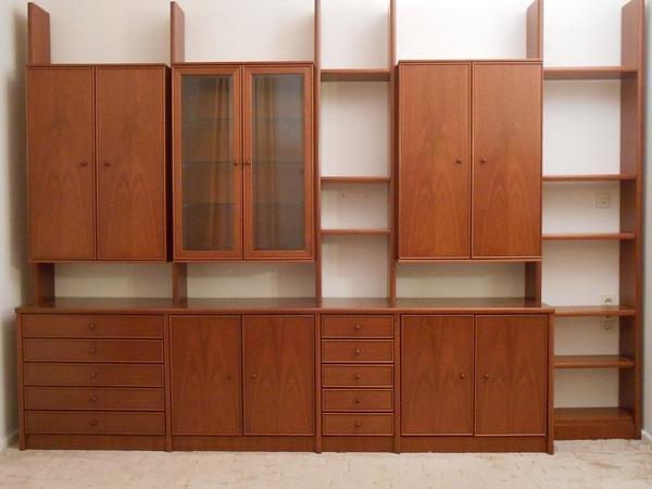 moderne p tter m bel stollenwand anbauwand schrankwand. Black Bedroom Furniture Sets. Home Design Ideas