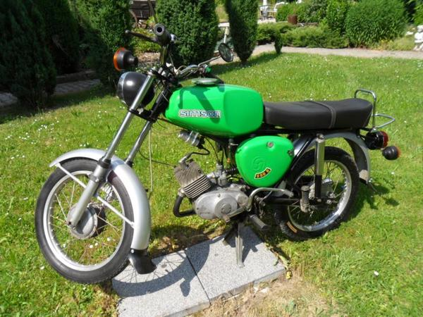 moped simson s 50 b 1 gr n hoher tank in nobitz oldtimer klassiker kaufen und verkaufen ber. Black Bedroom Furniture Sets. Home Design Ideas
