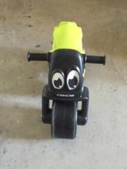 Motorrad des Bobbycar-