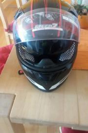 Motorrad Helm gr.