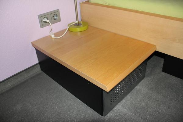 nachttisch von h lsta in leinfelden echterdingen kinder jugendzimmer kaufen und verkaufen. Black Bedroom Furniture Sets. Home Design Ideas