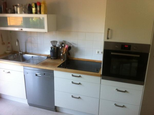wegen unseres umzugs m ssen wir leider ende juli unsere ikea einbauk che verkaufen sie ist 5. Black Bedroom Furniture Sets. Home Design Ideas
