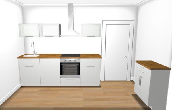 neuwertige ikea k che metod 4 monate alt in bretten. Black Bedroom Furniture Sets. Home Design Ideas