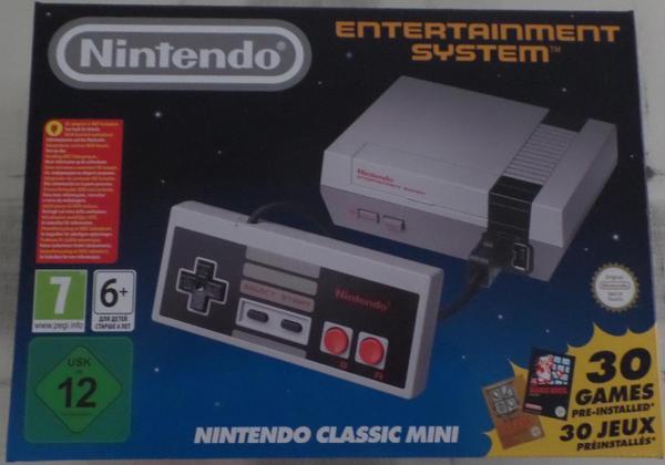 Nintendo Classic Mini » Nintendo, Gerät & Spiele