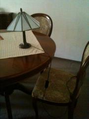 Nussbaum Tisch ausziehbar