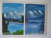 Öl-Gemälde (Sommer-