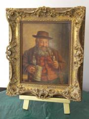 Ölbilder, bäuerliche Portraits