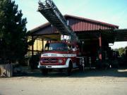 Oldtimer Feuerwehrfahrzeug-Merc.