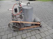Oldtimer Kompressor.