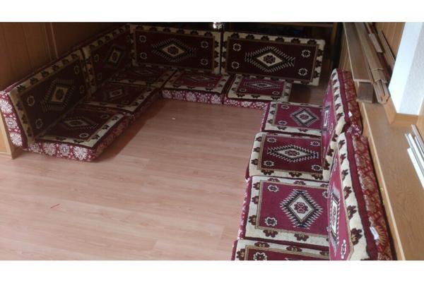 orientalische sitzecke in bach palenberg polster sessel couch kaufen und verkaufen ber. Black Bedroom Furniture Sets. Home Design Ideas