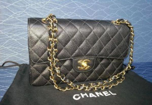 original chanel tasche caviar in stuttgart taschen. Black Bedroom Furniture Sets. Home Design Ideas