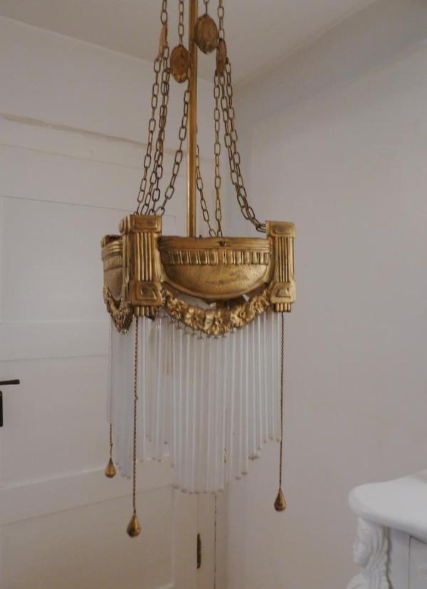 original jugendstil lampe frankreich in augsburg lampen. Black Bedroom Furniture Sets. Home Design Ideas