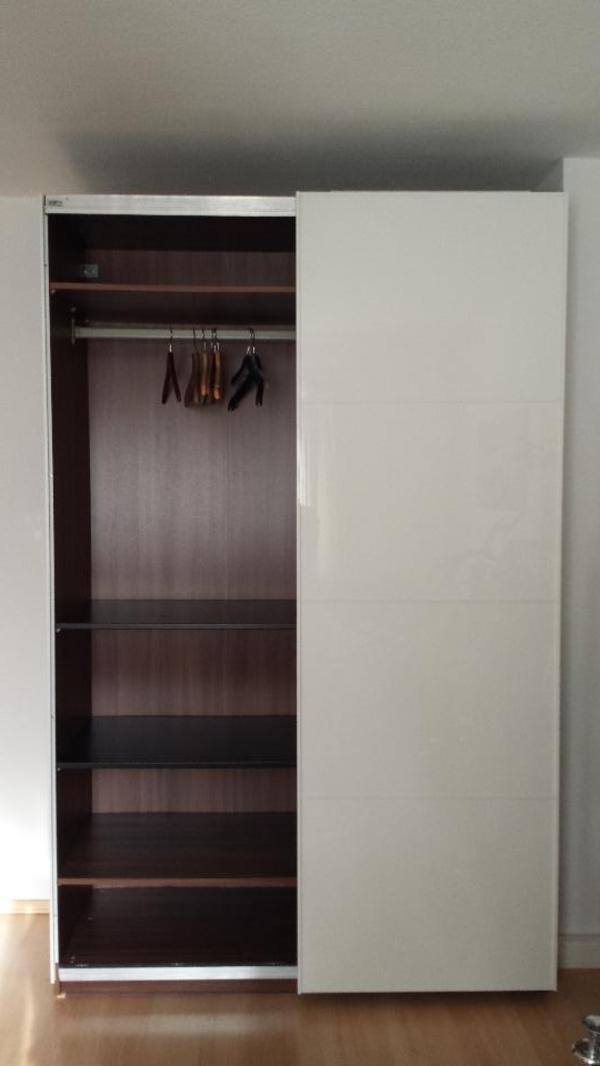 pax schrank mit t ren und innenleben in n rnberg schr nke sonstige schlafzimmerm bel kaufen. Black Bedroom Furniture Sets. Home Design Ideas
