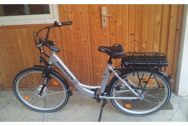 pedelec e bike mckenzie alu damen city e bike 26 39 e100 in. Black Bedroom Furniture Sets. Home Design Ideas