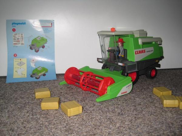 playmobil m hdrescher in erlenbach spielzeug lego playmobil kaufen und verkaufen ber. Black Bedroom Furniture Sets. Home Design Ideas