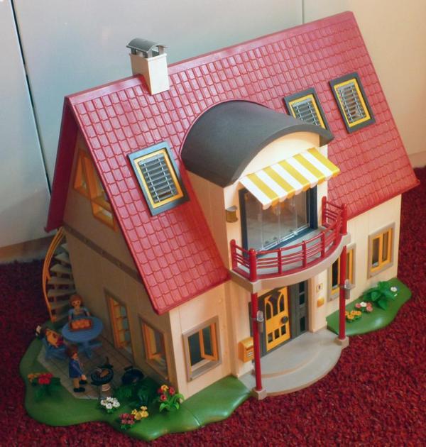 Playmobil Wohnhaus 4279 Mit Wohnzimmer 4282 In Karlsruhe Spielzeug