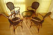 Rattan-Sitzgruppe 5-