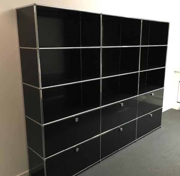 usm schwarz kaufen gebraucht und g nstig. Black Bedroom Furniture Sets. Home Design Ideas