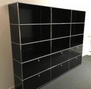 usm haller schwarz gebraucht kaufen nur 2 st bis 75 g nstiger. Black Bedroom Furniture Sets. Home Design Ideas
