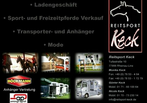 Reitsport KeckPferdemarkt und &raquo; Pferde