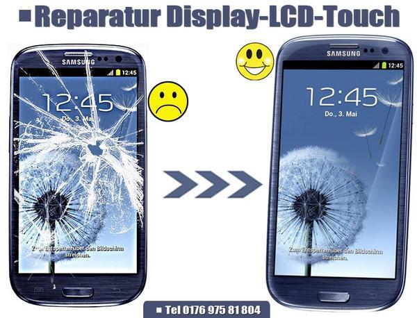 reparatur display lcd glas samsung galaxy s3 s4 s5 mini. Black Bedroom Furniture Sets. Home Design Ideas