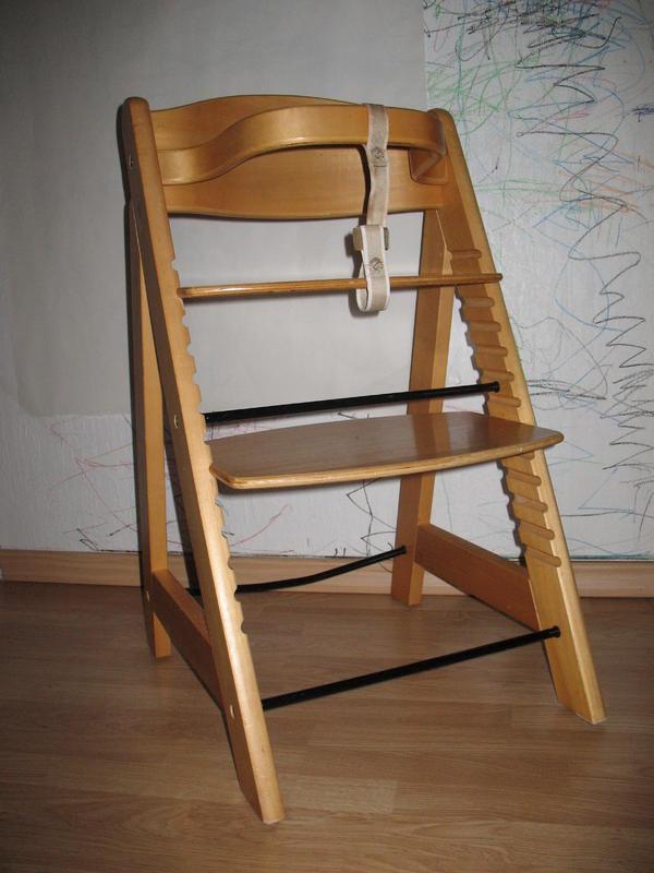 roba treppenhochstuhl kinderstuhl h henverstellbar holzmultiplex in aschaffenburg laufst lle. Black Bedroom Furniture Sets. Home Design Ideas