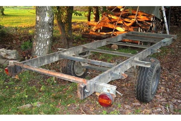 anh nger traktor r ckewagen holzr ckewagen ladewagen holzanh nger einachser gebremst in. Black Bedroom Furniture Sets. Home Design Ideas