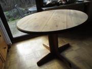runder Echtholz Tisch