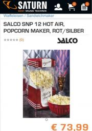 SALCO Popcornmaker SNP12