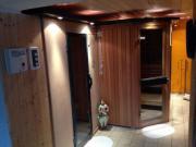 Sauna-Einrichtung inkl.