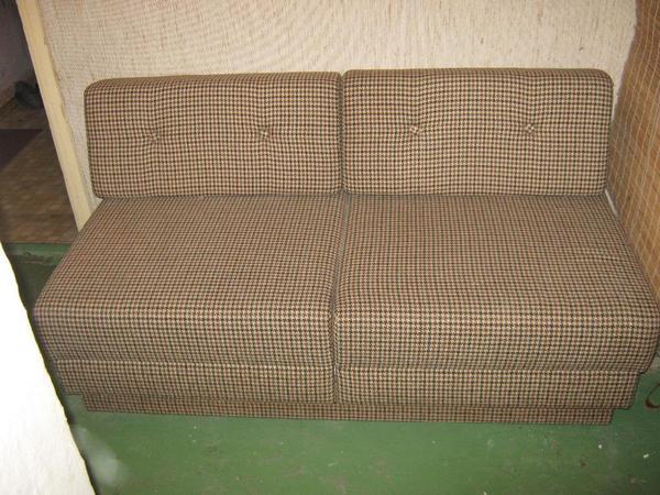 schlafcouch ausziehbar ma e ohne r ckenlehne ca 148 73. Black Bedroom Furniture Sets. Home Design Ideas