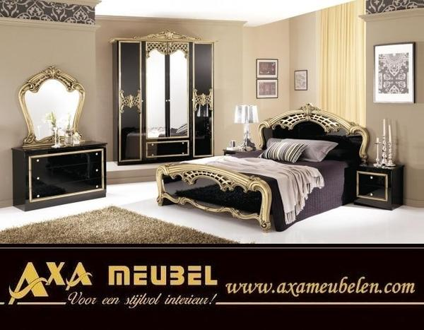 schlafzimmer komplett schwarz hochglanz g nstig kaufen woiss m bel in rotterdam schr nke. Black Bedroom Furniture Sets. Home Design Ideas