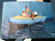 Schlauchboot mit 8PS