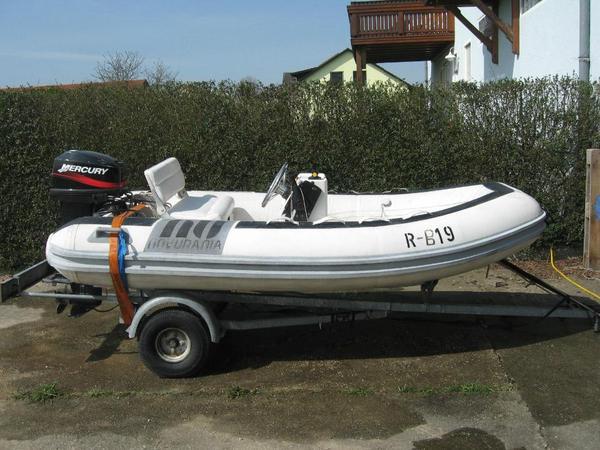 schlauchboot novurania my 320 mit mercury 25 ps mit e starter in bochum kanus ruder. Black Bedroom Furniture Sets. Home Design Ideas