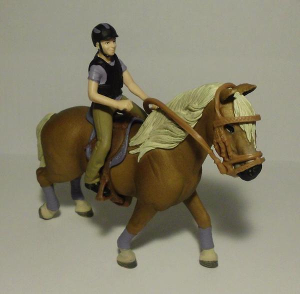 schleich figuren reiter mit pferd in m nchen spielzeug. Black Bedroom Furniture Sets. Home Design Ideas