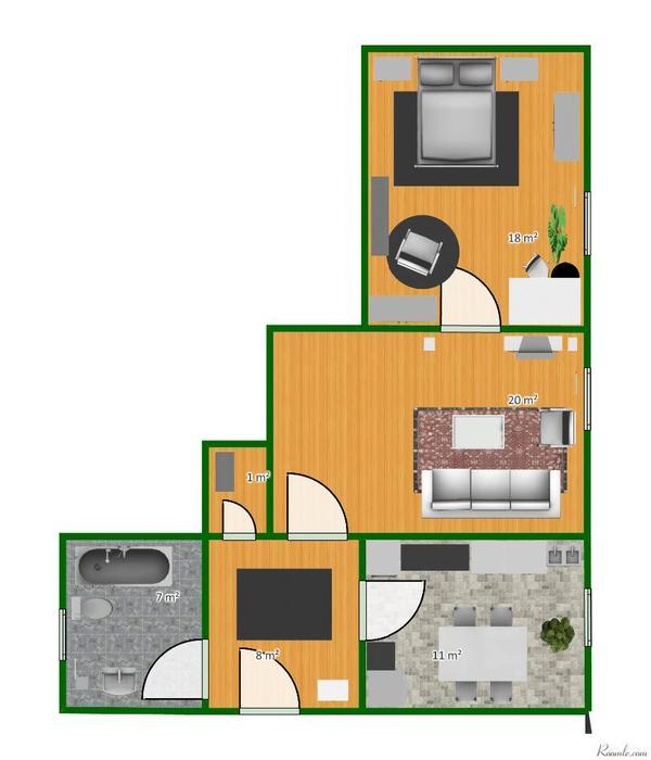 sch ne nippeser wohnung zum in k ln vermietung 2 zimmer wohnungen kaufen und. Black Bedroom Furniture Sets. Home Design Ideas