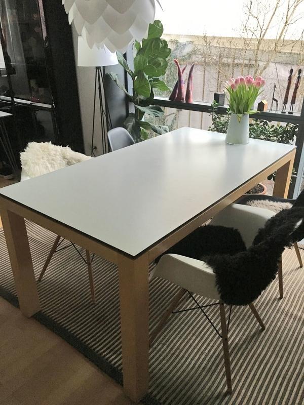 tischplatte massivholz neu und gebraucht kaufen bei. Black Bedroom Furniture Sets. Home Design Ideas