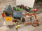 Schöner Playmobil Bauernhof +