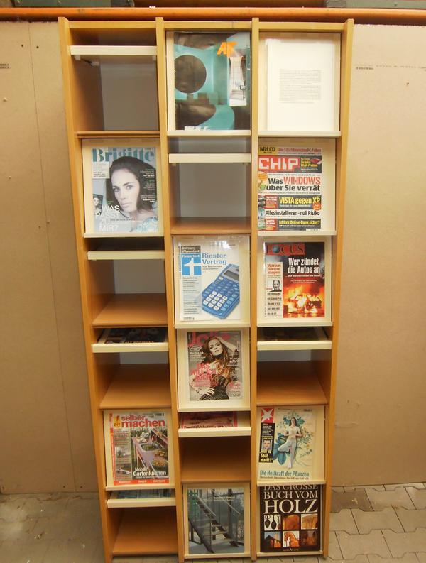 Verkaufe einen sch nen bibliotheksschrank mit f chern die for Holzschrank massiv gebraucht