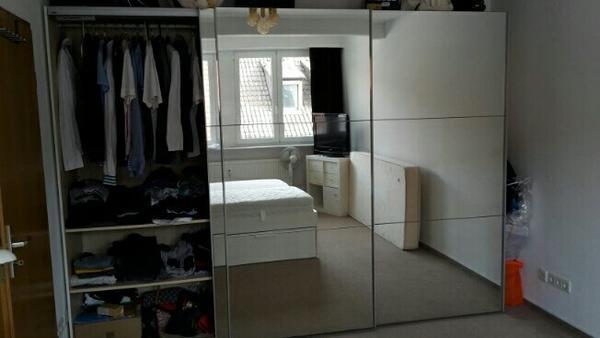 schrank mit schiebe spiegelt ren zu verkaufen in heilbronn schr nke sonstige. Black Bedroom Furniture Sets. Home Design Ideas