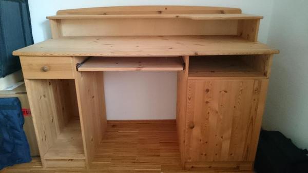 schreibtisch kiefer kaufen gebraucht und g nstig. Black Bedroom Furniture Sets. Home Design Ideas