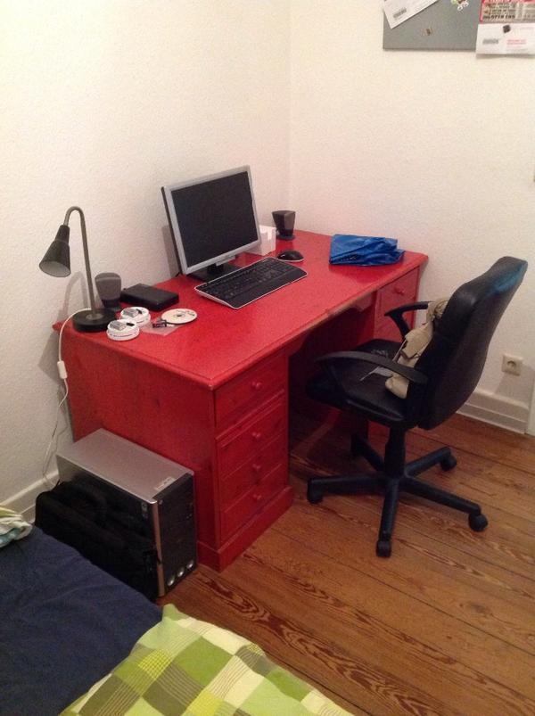 schubladen schreibtisch neu und gebraucht kaufen bei. Black Bedroom Furniture Sets. Home Design Ideas